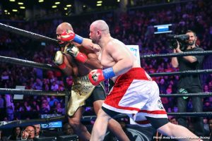 """Andre Berto - Undefeated Polish star and Brooklyn-native Adam Kownacki will look to thrill in front of a hometown crowd when he steps into the ring against veteran former title challenger Chris """"The Nightmare"""" Arreola for a 12-round heavyweight showdown that headlines FOX PBC Fight Night on FOX and FOX Deportes Saturday, August 3 from Barclays Center, the home of BROOKLYN BOXING™."""
