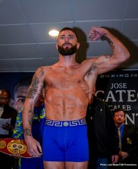 Caleb Plant Jose Uzcategui Boxing News
