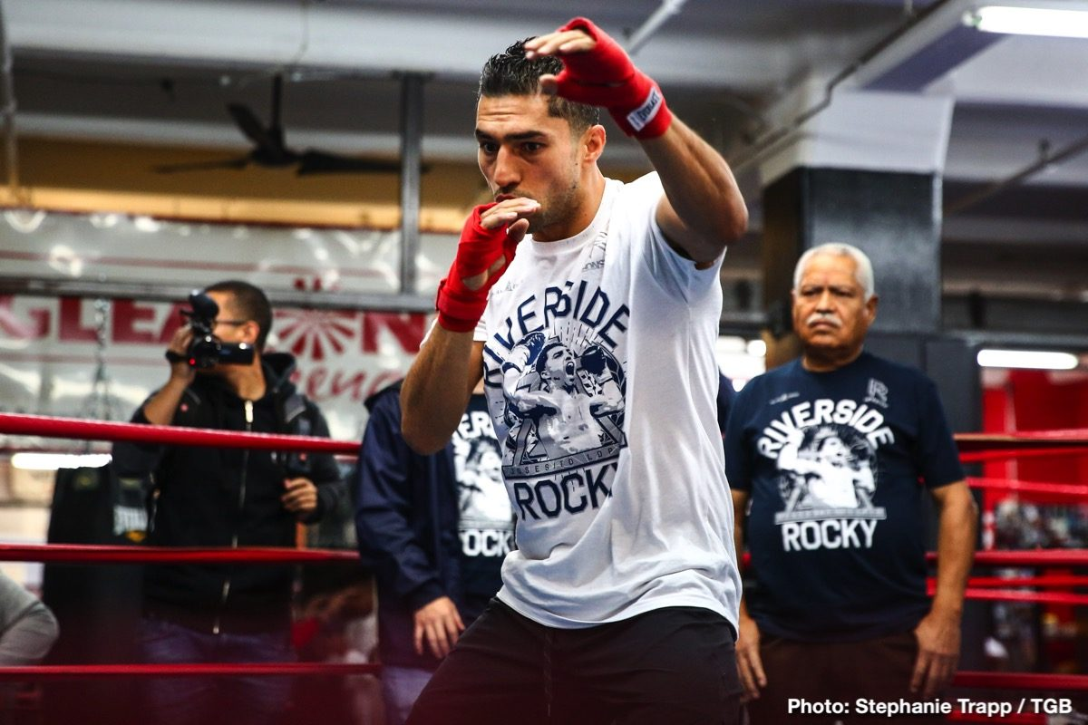 Josesito Lopez Keith Thurman Boxing Interviews Boxing News
