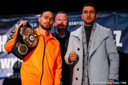 "Adam Kownacki, Gerald Washington, Josesito Lopez, Keith Thurman -  Keith ""One Time"" Thurman and veteran contender Josesito Lopez went face-to-face at the weigh in ahead of Saturday's Premier Boxing Champions on FOX and FOX Deportes event from Barclays Center, the home of BROOKLYN BOXING™."