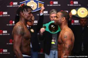 DeAndre Ware - Undefeated super middleweight prospect Ronald Ellis and once-beaten DeAndre Ware both made weight on Thursday for their 10-round super middleweight clash in the main event of a ShoBox: The New Generation doubleheader tomorrow/Friday live on SHOWTIME (10 p.m. ET/PT) from Main Street Armory in Rochester.