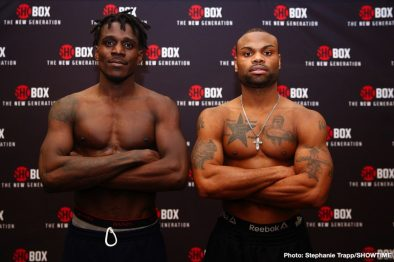 DeAndre Ware Ronald Ellis Boxing News