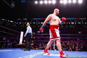 Gerald Washington -  Brooklyn's Adam Kownacki (19-0, 15 KOs) continued his climb up the heavyweight rankings by earning a second-round TKO victory over former title challenger Gerald Washington (19-3-1, 12 KOs).