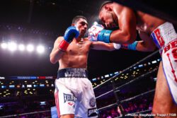 """Josesito Lopez, Keith Thurman - WBA Welterweight World Champion Keith """"One Time"""" Thurman returned to the ring and defended his title with a majority decision victory over veteran contender Josesito Lopez Saturday night in the main event of Premier Boxing Champions on FOX and FOX Deportes from Barclays Center, the home of BROOKLYN BOXING™."""