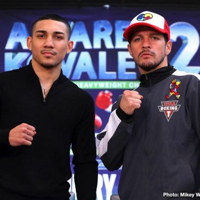 Diego Magdaleno Óscar Valdez Teofimo Lopez Boxing News