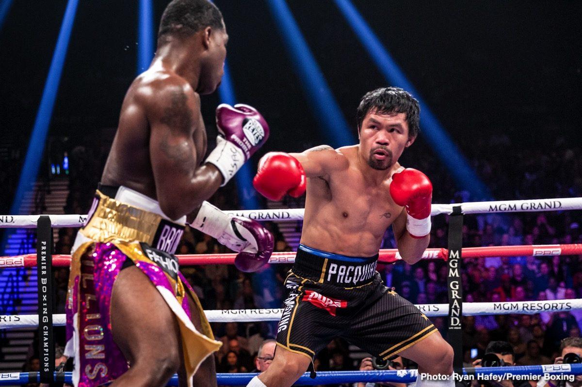 Keith Thruman Manny Pacquiao Boxing News