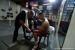 Jaime Munguia -  Jaime Munguia (31-0, 26 KOs) discussed his busy plans for 2019 as he prepares to defend his WBO Junior Middleweight World Title against Japanese contender Takeshi Inoue (13-0-1, 7 KOs) in a 12-round battle. The action will take place on Saturday, Jan. 26 at the Toyota Center in Houston, Texas and will be streamed live on DAZN - which is just $9.99 per month after a one-month free trial. Fans in Houston can purchase tickets starting at just $25 at ToyotaCenter.com.