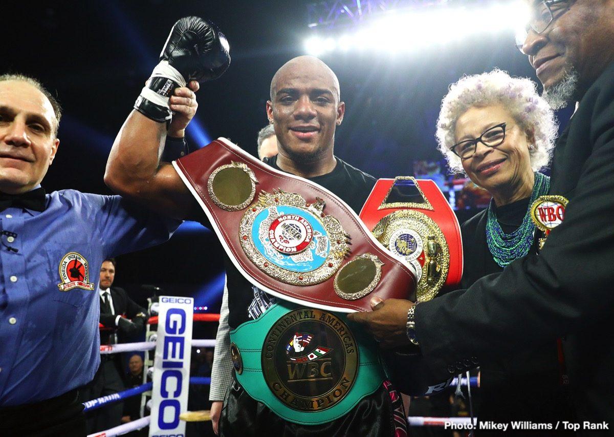 Bryant Jennings Oscar Rivas Boxing News Boxing Results