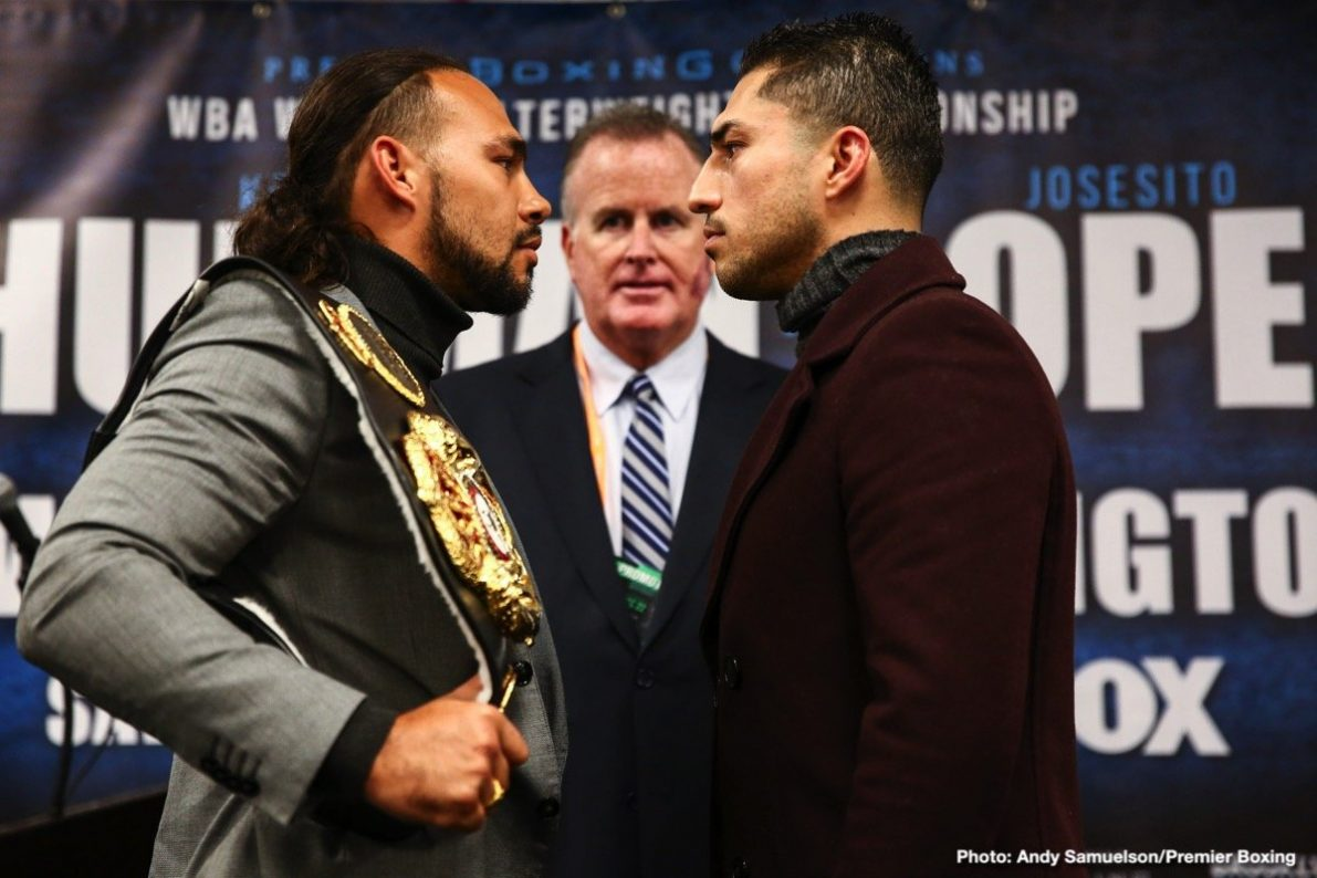 Josesito Lopez Keith Thurman Boxing News