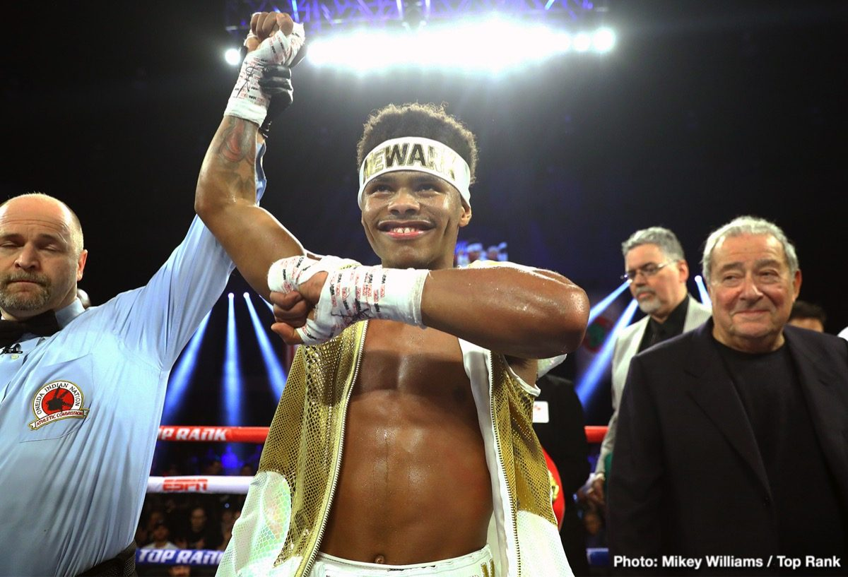 Shakur Stevenson Top Rank Boxing