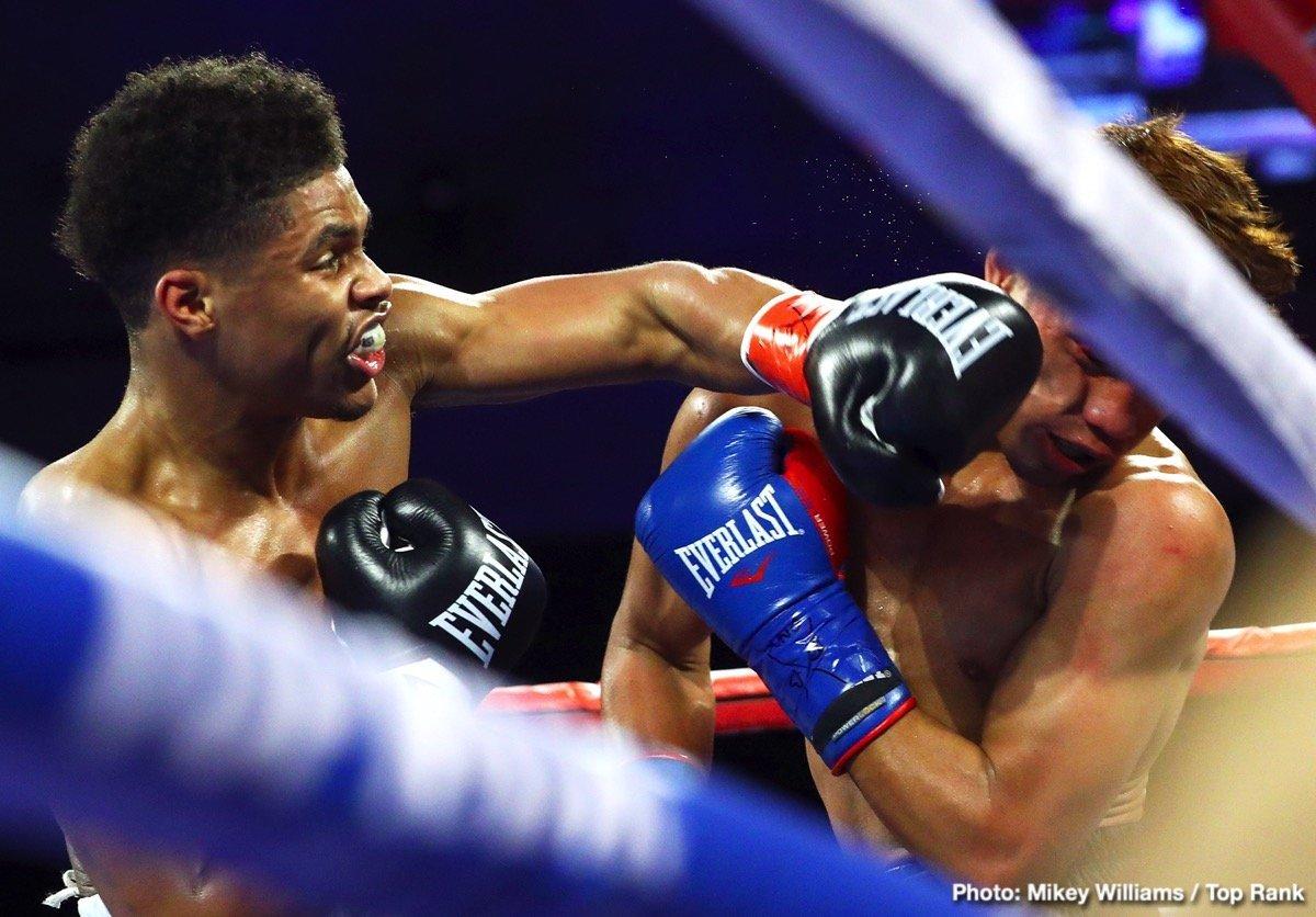 Shakur Stevenson Boxing News Boxing Results