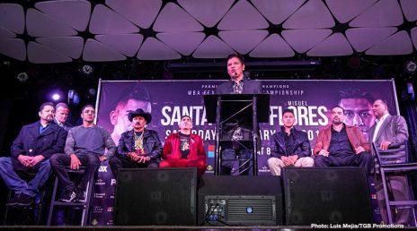 Leo Santa Cruz Miguel Flores Boxing News