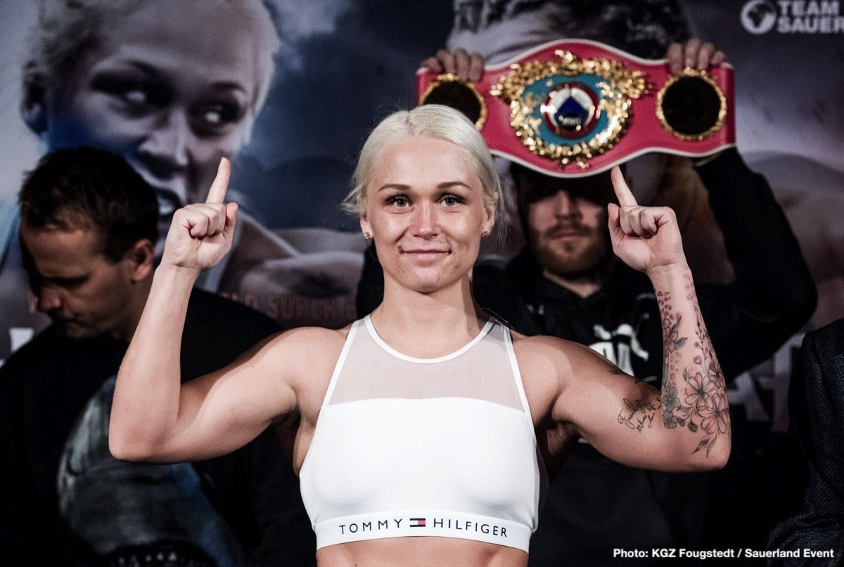 - Thorslund, who claimed the WBO World title with a unanimous points win over Yessica Munoz in August 2018, returns to her hometown arena to meet the tough German challenger Alesia Graf for the WBO crown.