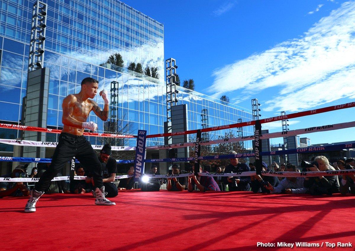 Carmine Tommasone Diego Magdaleno Óscar Valdez Teofimo Lopez Boxing News