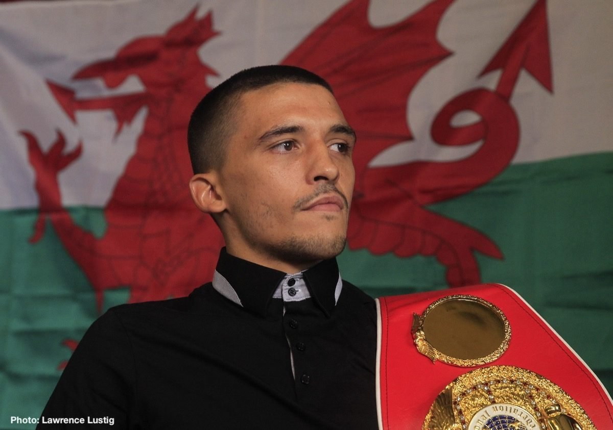 Lee Selby British Boxing Press Room