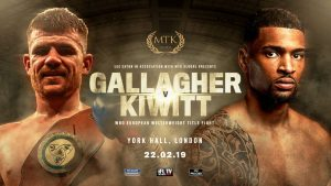 Paddy Gallagher - Belfast's Paddy Gallagher will travel to the famous York Hall in London to take on Freddy Kiwitt for the WBO European title on February 22 – live on iFL TV.