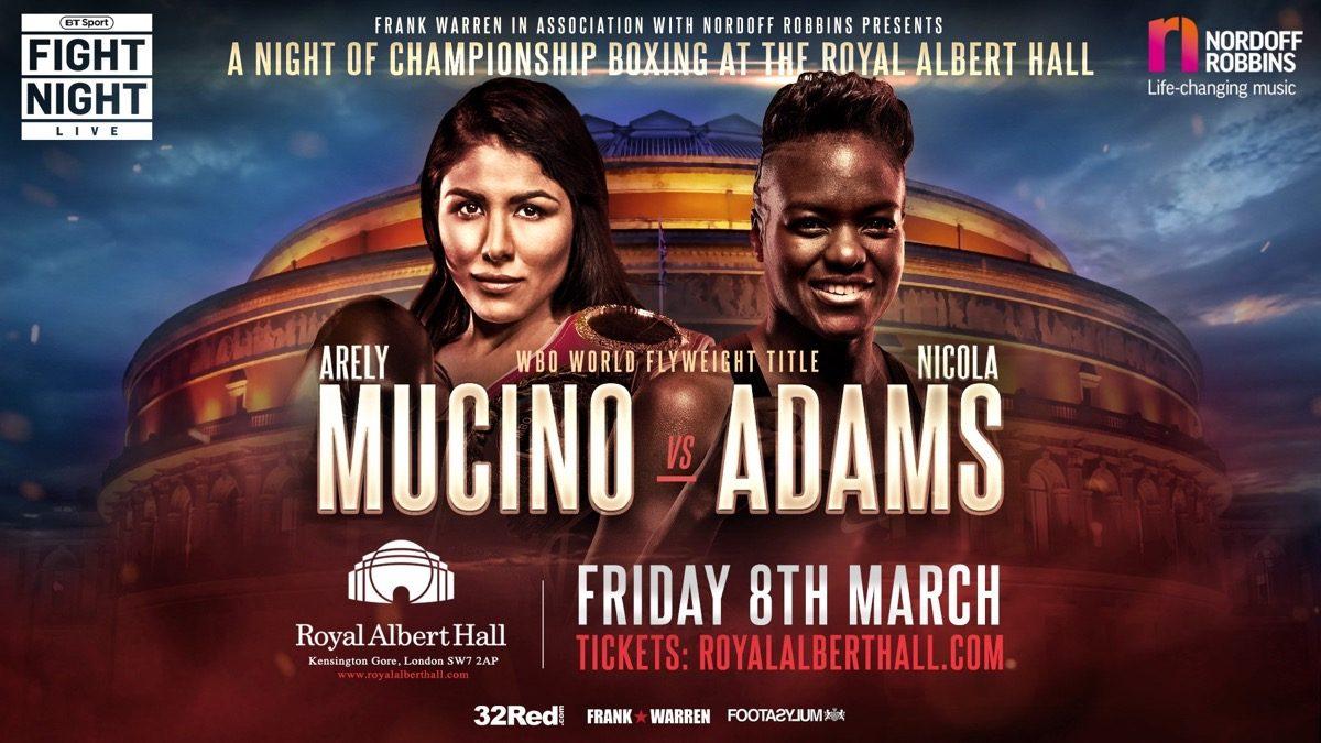 Nicola Adams British Boxing Press Room