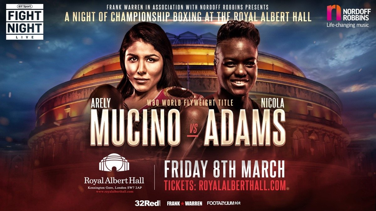 Nicola Adams - NICOLA ADAMS OBE WILL be hoping for a double celebration on March 8th. Britain's most successful ever female boxer will bid to become a professional world champion on the same day that females across the globe unite to celebrate International Women's Day.