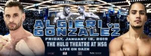 Danny Gonzalez - Chris Algieri believes he can return to World title level in 2019 – but the returning ace knows that his dreams could be shattered by defeat against Danny Gonzalez on Friday January 18 at the Hulu Theater at Madison Square Garden in New York, live on DAZN in the US and on Sky Sports in the UK.