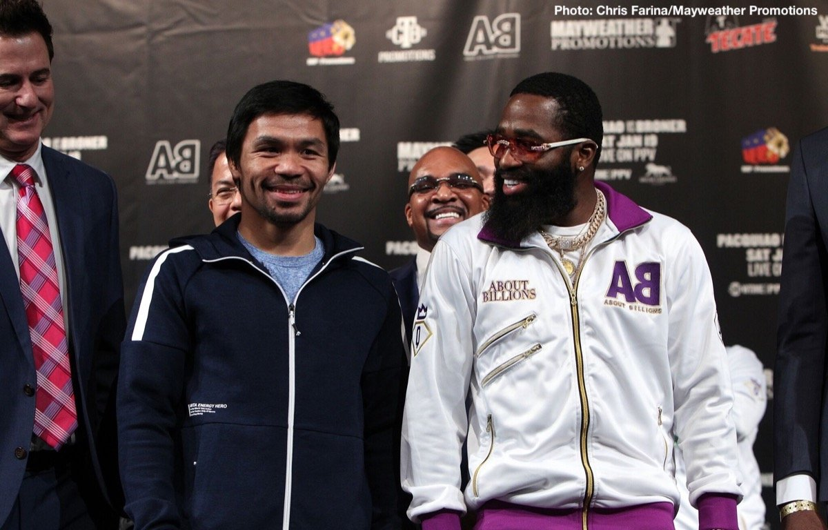 Adrien Broner, Manny Pacquiao - Boxing News