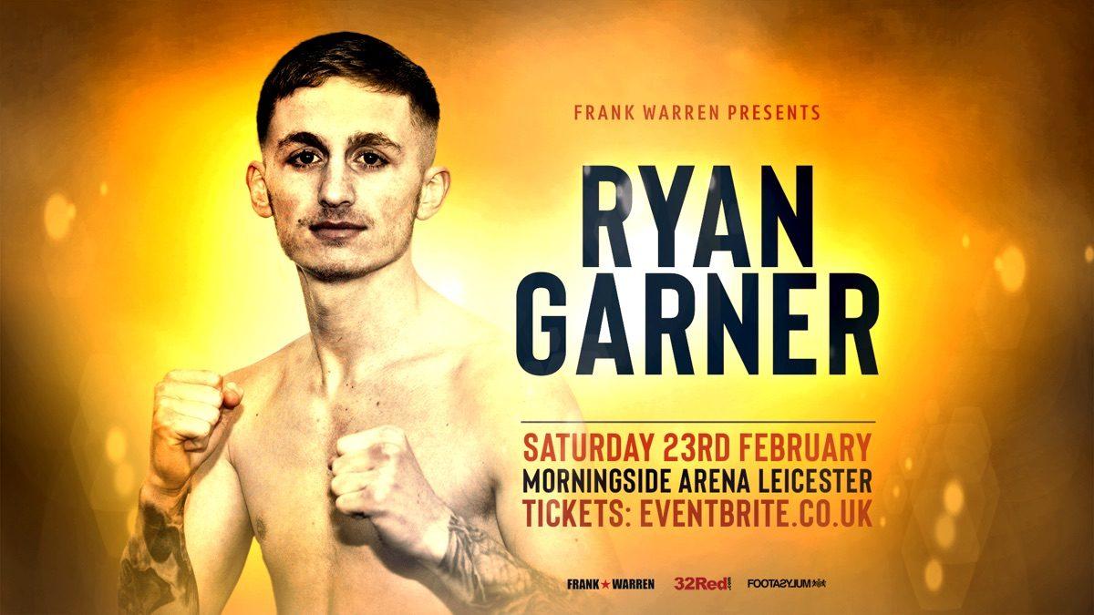 Ryan Garner British Boxing Press Room
