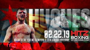 """-  Boxing returns to the Windy City when Hall of Fame boxing promoter Bobby Hitz presents the """"Belvedere Bash, Friday Feb. 22 at the Belvedere in Elk Grove Village.  Tommy """"White Lightning"""" Hughes tops the eight bout card."""