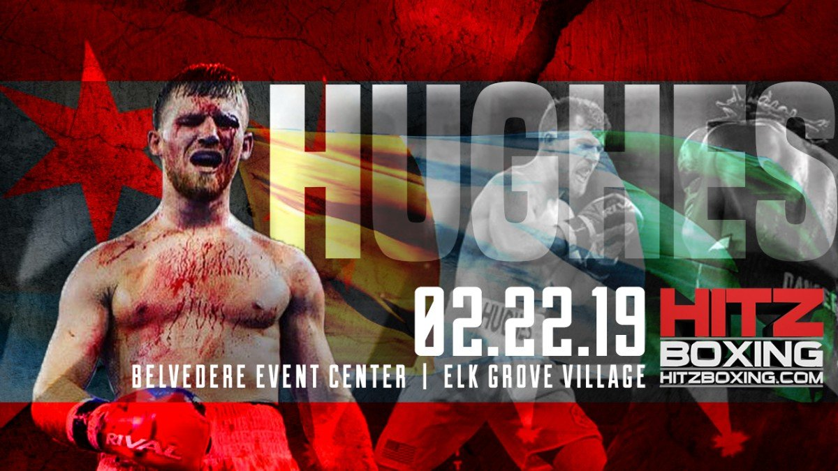 "-  Boxing returns to the Windy City when Hall of Fame boxing promoter Bobby Hitz presents the ""Belvedere Bash, Friday Feb. 22 at the Belvedere in Elk Grove Village.  Tommy ""White Lightning"" Hughes tops the eight bout card."