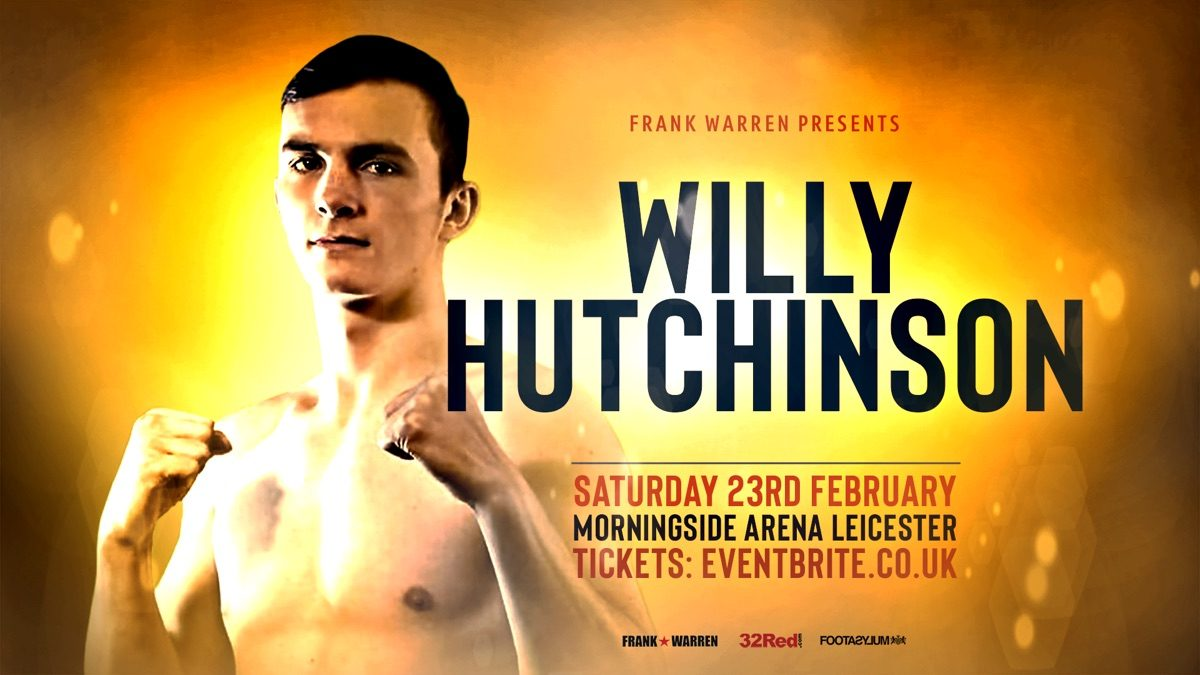 Willy Hutchinson British Boxing Press Room