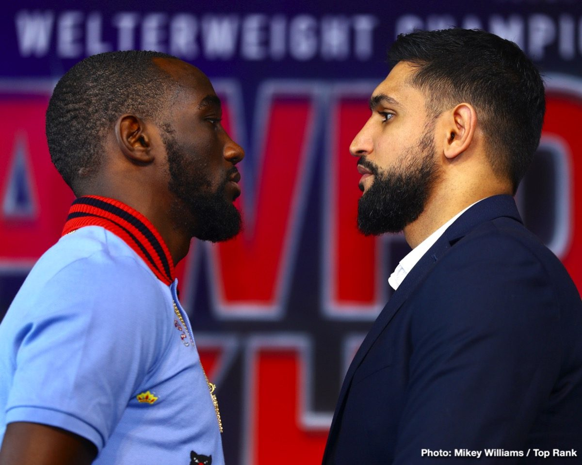 Amir Khan Terence Crawford Boxing News Top Stories Boxing