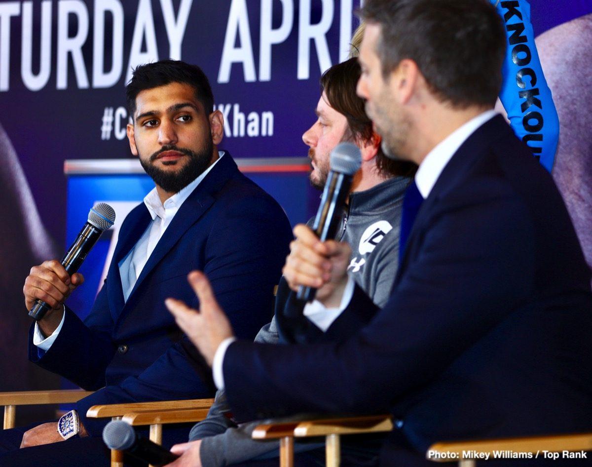 Amir Khan Top Rank Boxing Interviews Boxing News Top Stories Boxing