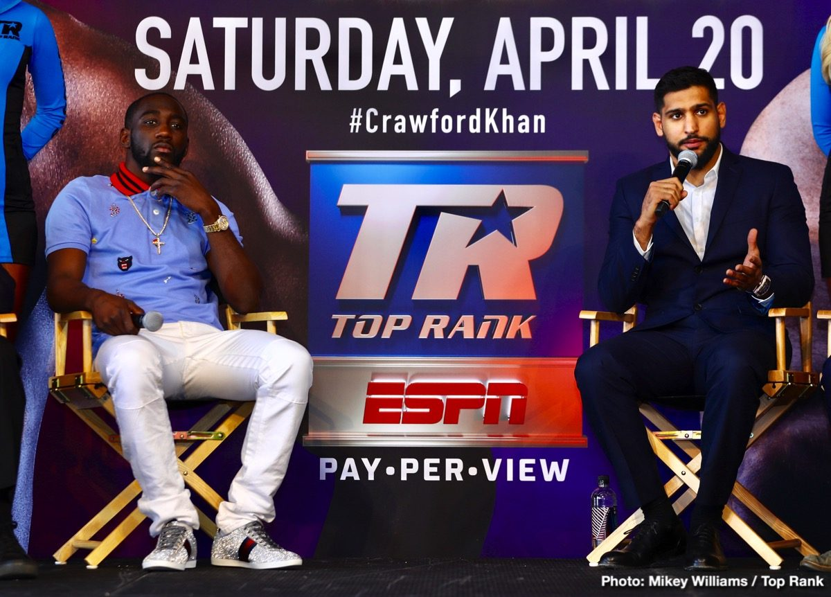 Amir Khan Terence Crawford Boxing News