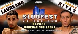 """Cletus """"The Hebrew Hammer"""" Seldin - Four Connecticut fighters will put their boxing and punching skills on display at """"Slugfest at the Sun"""", on a show headlined by bangers CLETUS SELDIN and ADAM MATE. The excitement, action, and fun will all occur at Mohegan Sun in Uncasville, Connecticut on January 26th, on a card also featuring Star Boxing's talented fighters DAVID PAPOT (22-0 3KO's, Saint Nazaire, FR) against COURTNEY PENNINGTON (12-3-2 5KO's, Brooklyn, NY) as well as RONNIE AUSTION (10-0 7KO's, Las Vegas, NV). The entire thrilling night of boxing is presented by Joe DeGuardia's Star Boxing."""