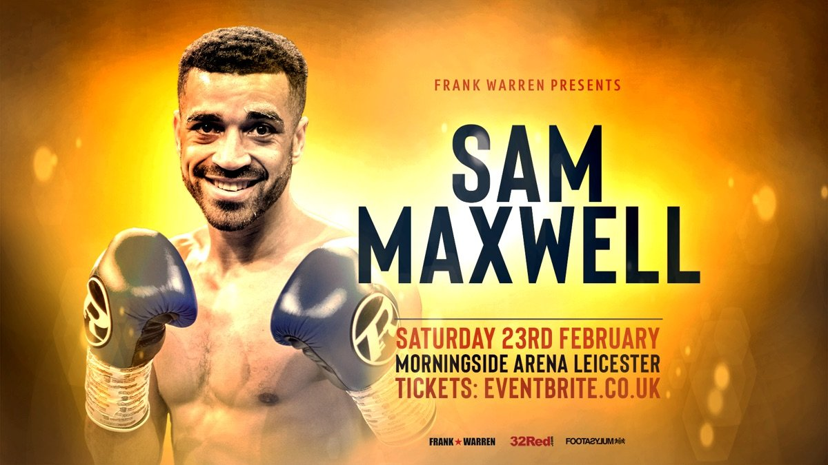 Sam Maxwell - SAM MAXWELL IS now into double digits as a professional super lightweight and believes he has served his time on the learning curve.