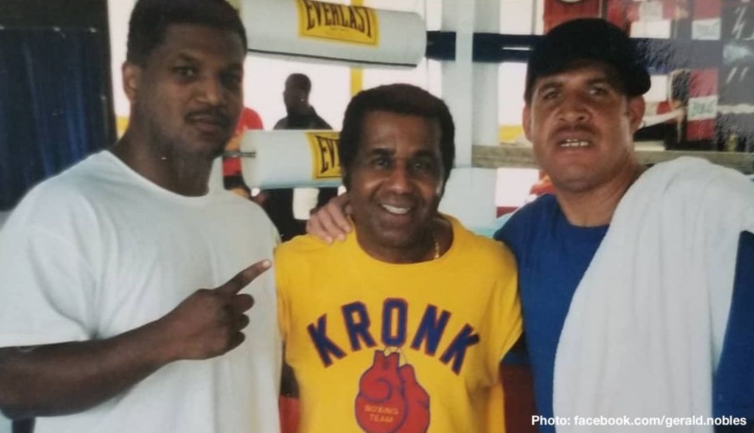 """Exclusive interview by James Slater - Philadelphia's Gerald Nobles was a noted power puncher during his 1995 to 2007 pro career. Well known in the gyms as a man who would really make the top heavyweights he sparred with work hard, Nobles was himself unable to secure a world title shot. """"100-percent frustrated"""" over this years into his retirement, """"The Jedi,"""" as Nobles was called, says today he is certain he would have won at least a portion of the world title had he been afforded the opportunity."""