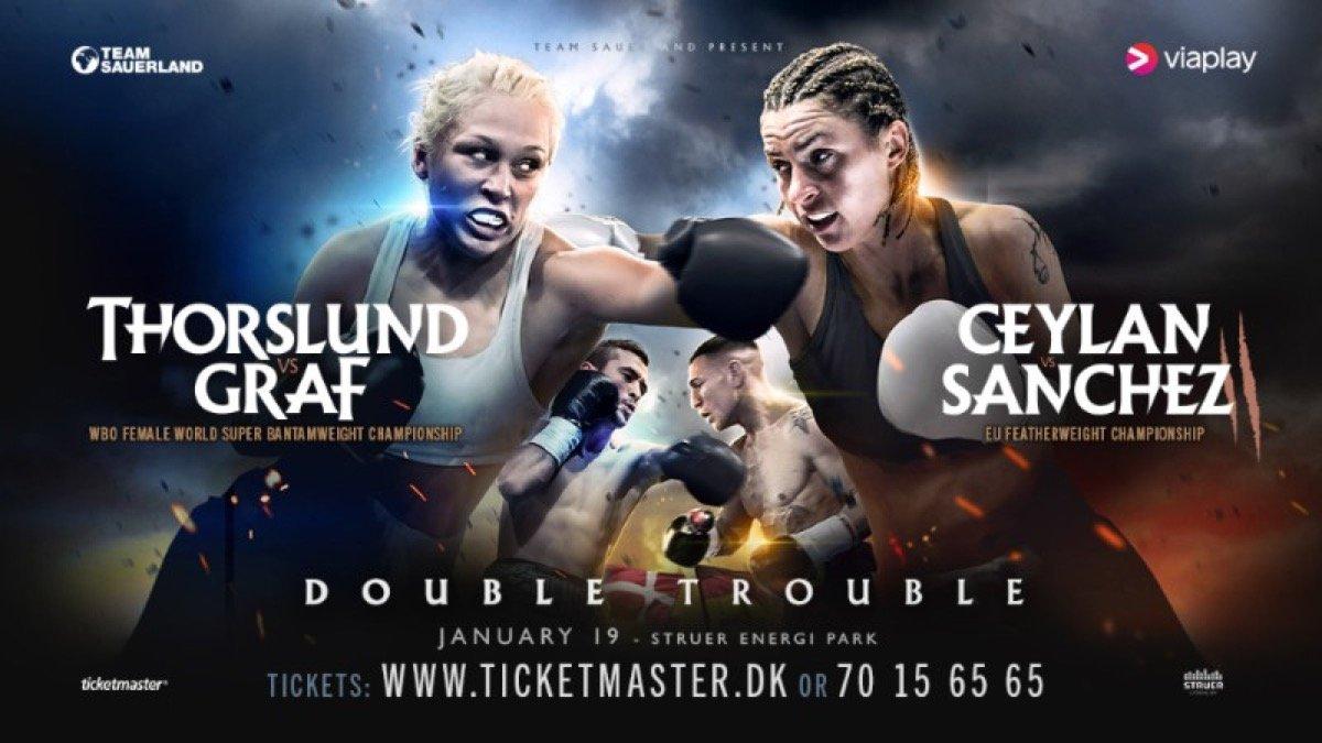 Dennis Ceylan, Dina Thorslund - Jesus Sanchez's (9-1, 2 KOs) coach Luis Munoz says all the pressure is on Dennis Ceylan (19-2-2, 8 KOs) ahead of their rematch for the EU Featherweight title on January 19 at the Struer Energi Park in Denmark.
