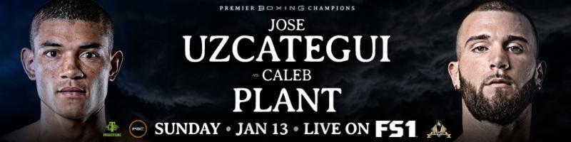 Caleb Plant Fernando Garcia Isao G. Carranza Jose Uzcategui Press Room