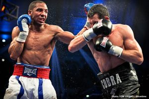 "Andre Ward - Retired great Andre Ward was over in the UK this past weekend, to work the Vasyl Lomachenko-Luke Campbell fight for ESPN, and both before het got into London and while he was there, Ward let it be known on social media that he was ""looking for Carl Froch."""