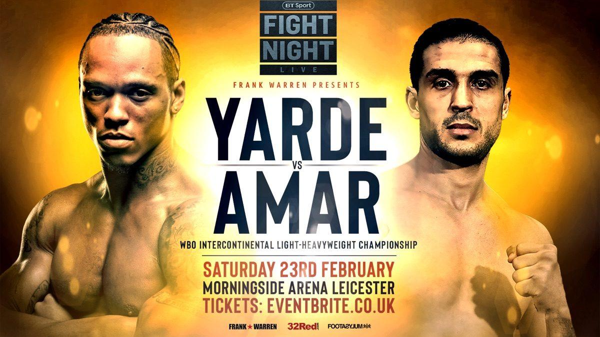 Anthony Yarde Sam Bowen British Boxing Press Room