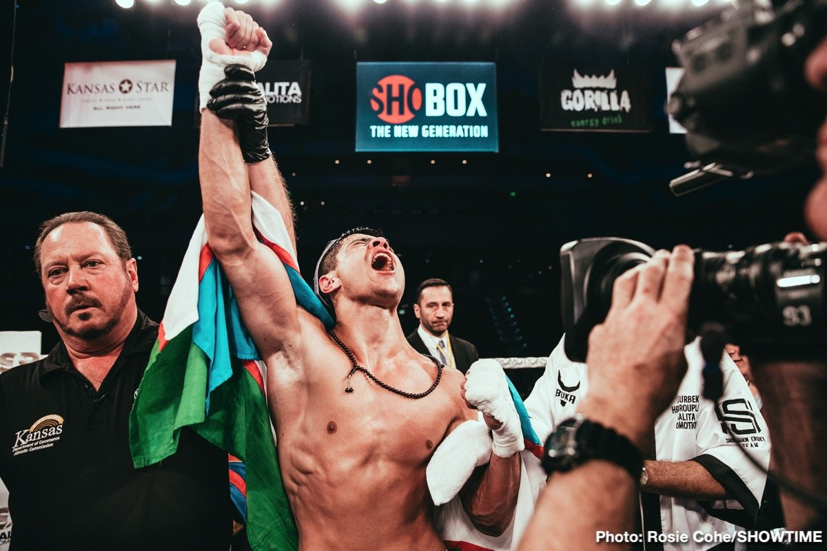 Abdiel Ramirez, Arnold Khegai, Shohjahon Ergashev, Vladimir Tikhonov - A pair of undefeated and top-10 ranked prospects will return to ShoBox: The New Generation in separate tests on Friday, August 23 to round out a tripleheader telecast live on SHOWTIME from Main Street in Broken Arrow, Okla.