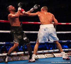 James DeGale -  Chris Eubank Jr. earned a career-defining victory with a hard-fought unanimous decision over British rival and former two-time world champion James DeGale in a super middleweight grudge match Saturday on SHOWTIME from The O2 in London.