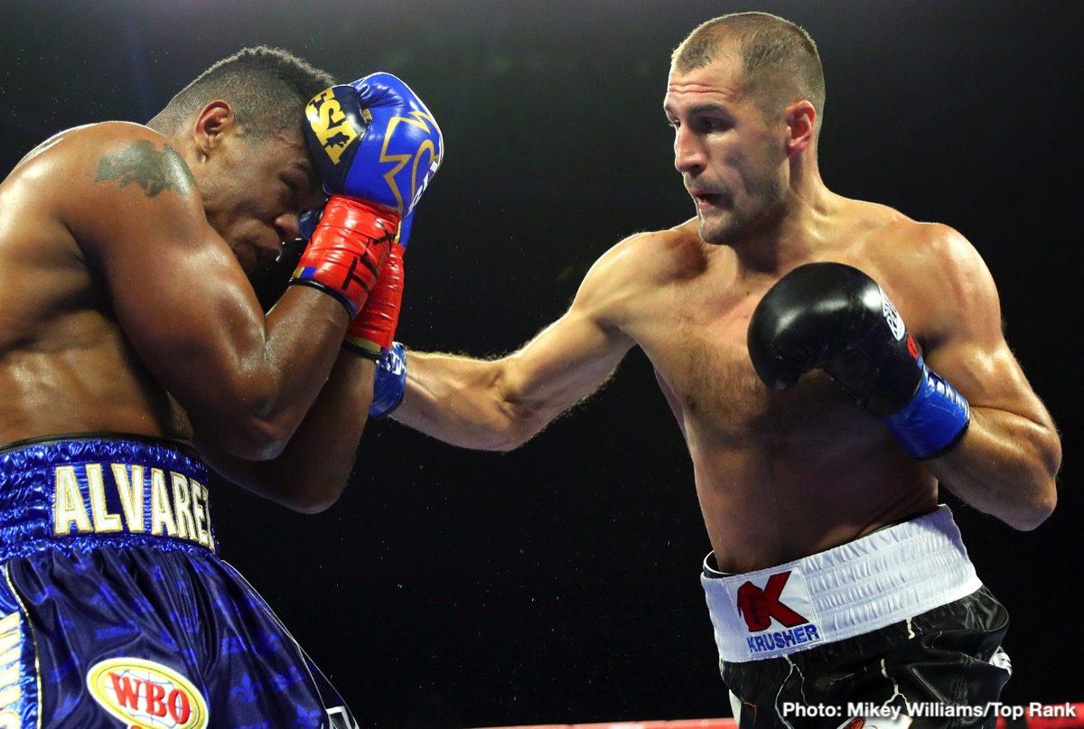 Eledier Alvarez Sergey Kovalev Boxing News Boxing Results