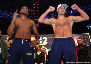 Eleider Alvarez - The second go-round from an entertaining bout between Eleider Alvarez and Sergey Kovalev will be broadcasted on the worldwide leader in sports ESPN's new platform ESPN+ this Saturday night. With plenty of intrigue in the rematch both in and outside the ring it's difficult to know how it will turn out once the smoke clears. Alvarez did well in the first 2 rounds, after that Kovalev controlled most of the action, until the 7th round when a hard right hand by Eleider changed the whole fight. Can Kovalev find a way to survive adversity in the rematch or will Alvarez build on his performance and finish off the former 175-pound champion?