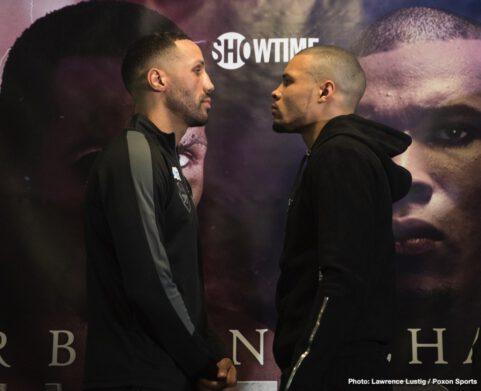 Chris Eubank Jr, James DeGale - Boxing News