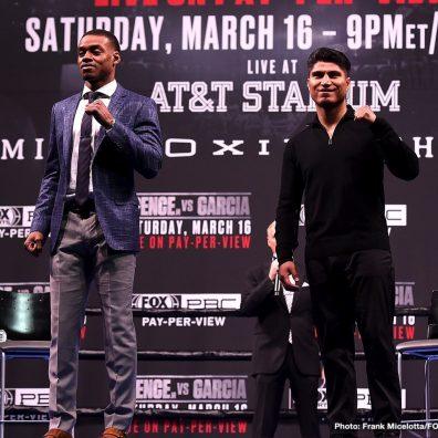 Chris Arreola David Benavidez Errol Spence Jr. Mikey Garcia Boxing News