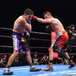 John Molina jr., Leo Santa Cruz, Omar Figueroa Jr., Rafael Rivera -  Omar Figueroa (28-0-1, 19 KOs) earned a decision victory in a back and forth welterweight brawl against John Molina Jr. (30-8, 24 KOs) after 10 rounds of action.