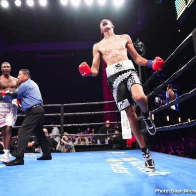 John Molina jr. Leo Santa Cruz Omar Figueroa Jr. Rafael Rivera Boxing News Boxing Results
