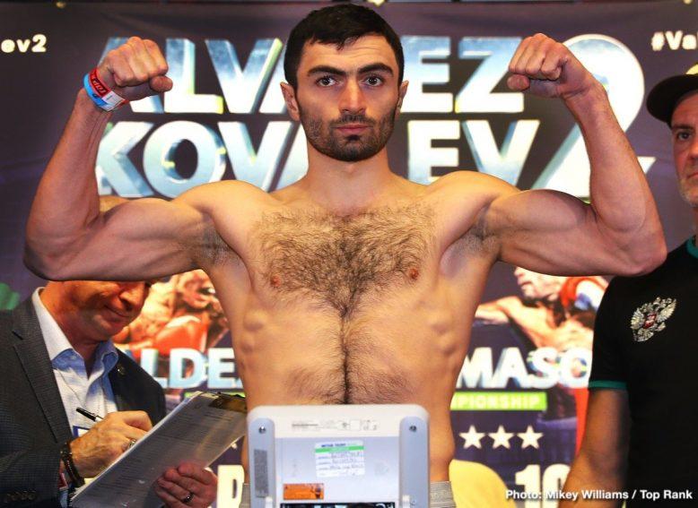 Sergey Kovalev Boxing News
