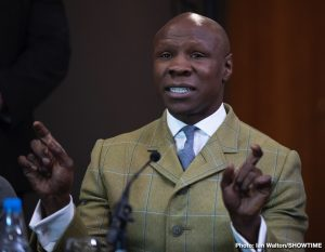 Chris Eubank - Rewind to the summer of1990, and British fight fans were not too sure what to make of the 23-0 Chris Eubank. Eubank was different, put it that way. In time, the monocle-wearing middleweight from Brighton would become a genuine star. On the hunt for a shot at Nigel Benn, who Eubank had called out, insulted, and vowed to defeat, the 160-pound contender featured in a fight on terrestrial T.V. enter Reginaldo Dos Santos.