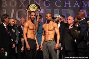James DeGale - The last weekend of the month of February features an interesting matchup on paper between James DeGale and Chris Eubank Jr. The PBC on FS1 returns to the Minneapolis Armory in a show headlined by Anthony Dirrell and Jamal James. The undercard bouts on both events should give fans something to sink their teeth in. We boxing degenerates have been somewhat surprised on how several of these mediocre matchups on paper paid off in the ring so far in 2019.