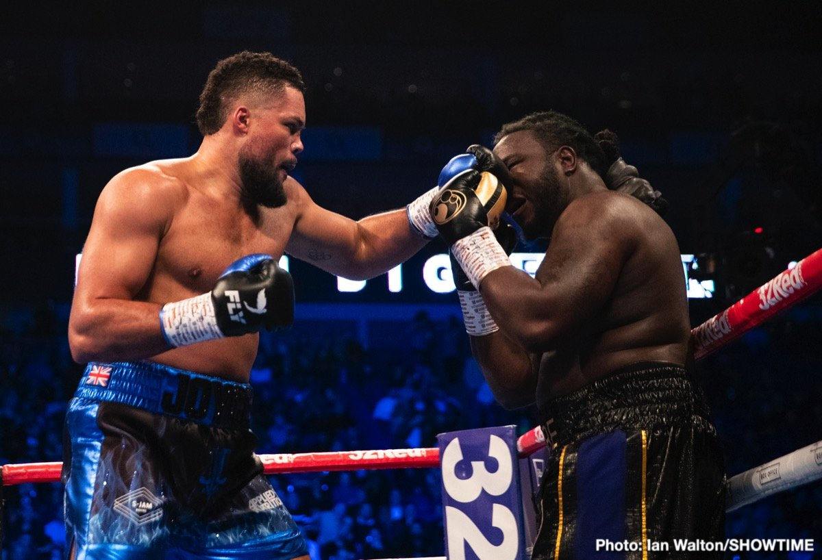 Bermane Stiverne - In the opening bout of the SHOWTIME CHAMPIONSHIP BOXING doubleheader, undefeated heavyweight Joe Joyce kept his knockout record intact with a sixth-round TKO of former heavyweight world champion Bermane Stiverne.